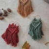 Autumn Style | Macrame Earrings | Statement Earrings
