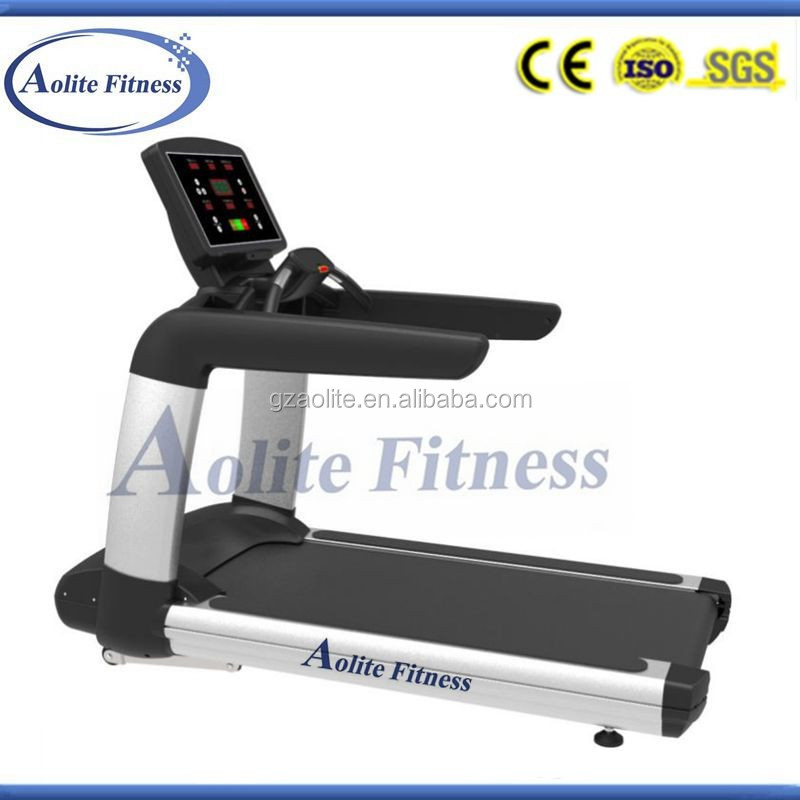 Crawler Treadmill with TV Commercial Gym Running Machine