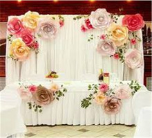 Cheap Wedding Background Curtain pipe and drape decorate wedidng wall