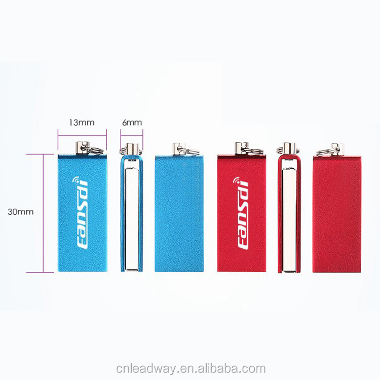 Factory price Metal Mini Swivel USB 3.0 Flash Drive,8GB Pendrive with Free Custom Logo Engraved
