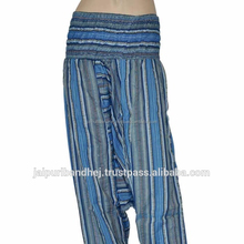 INDIAN GIRLS TROUSERS INDIAN HAREM TROUSERS DESIGNER CASUAL PRINTED ALADDIN STYLE HAREM TROUSER PANTS