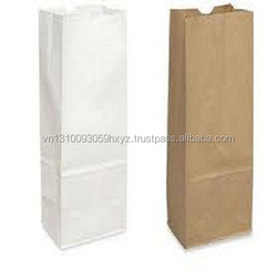 Wholesale Custom Printes Logo Cheap Brown Kraft Paper Bag