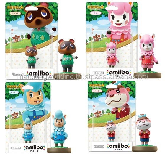Various figures (Animal Crossing series) for game player with express air shipment