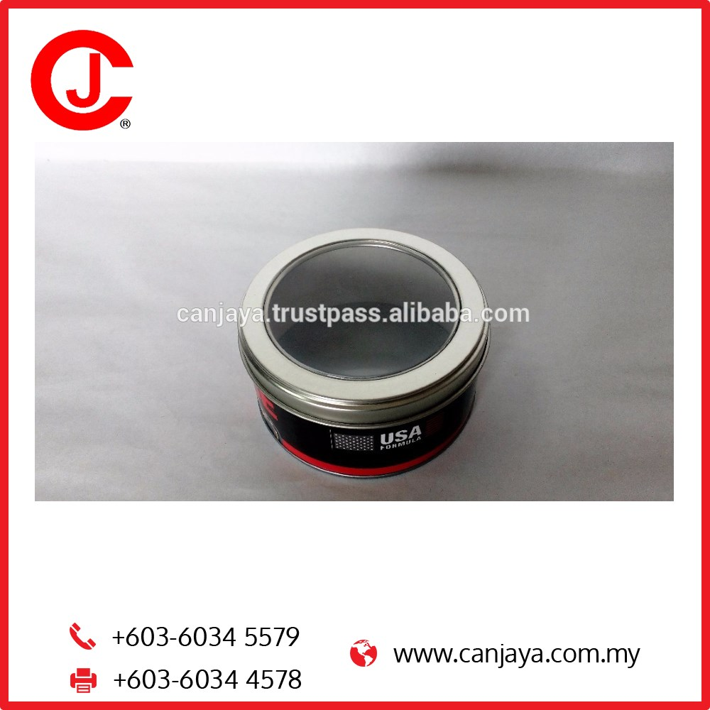Special Opener Open Window Composite Can Paper Canister for chocolate gift