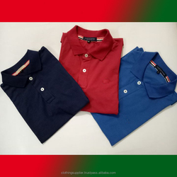 Polo Shirts stock lot for sale leftover stock apparel stock lots