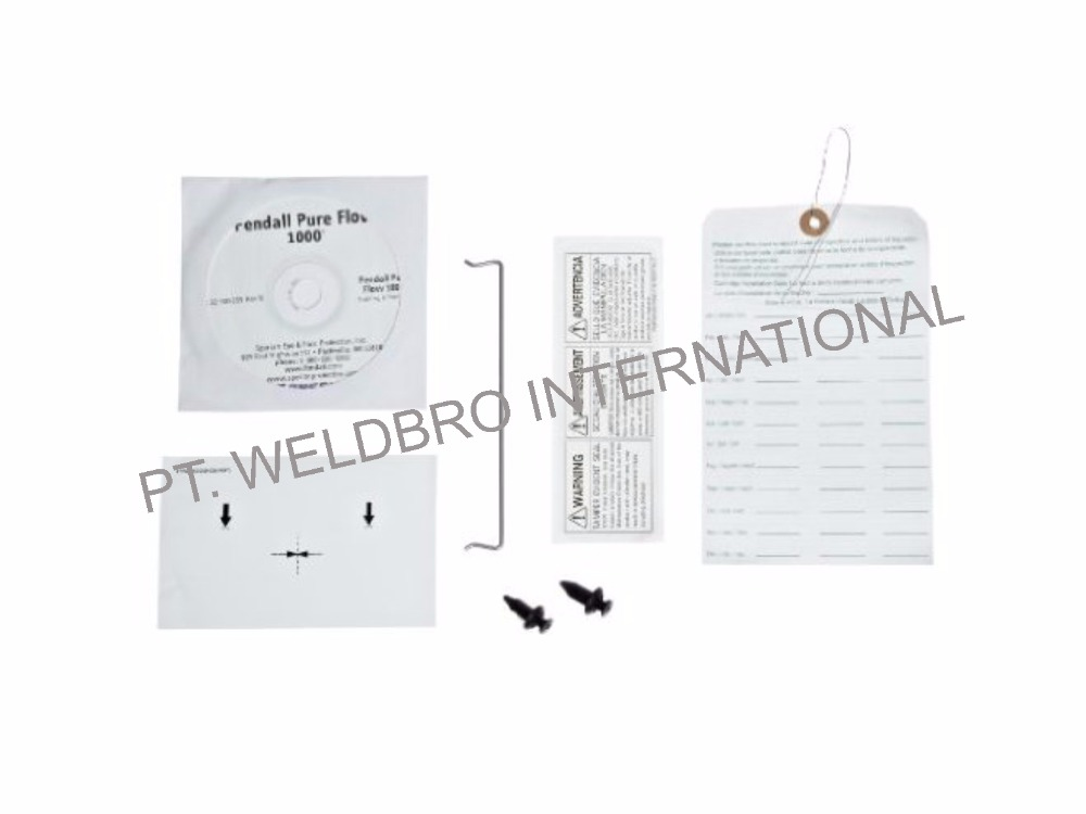 HONEYWELL INSTALLATION CD, TAMPER SEAL, NOZZLE PLATE LABEL, INPECTION TAG, FASTENER CLIP