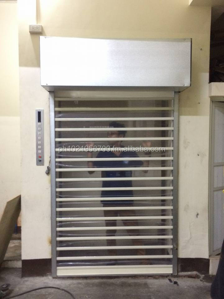 Polycarbonate Roll up door