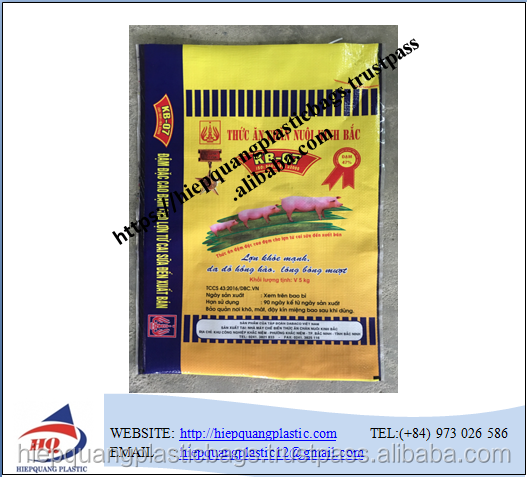 bopp laminated pp woven 25kg flour bag ,rice/grain/maize flour sack logo printing new free