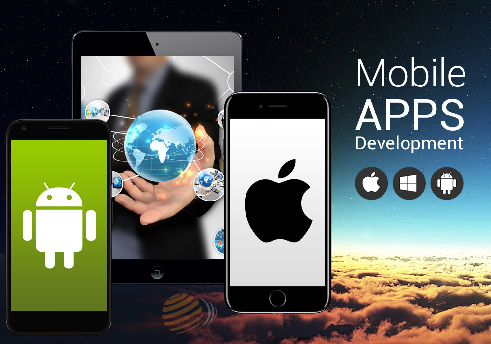Mobile app development for Android, iPhone & iPad