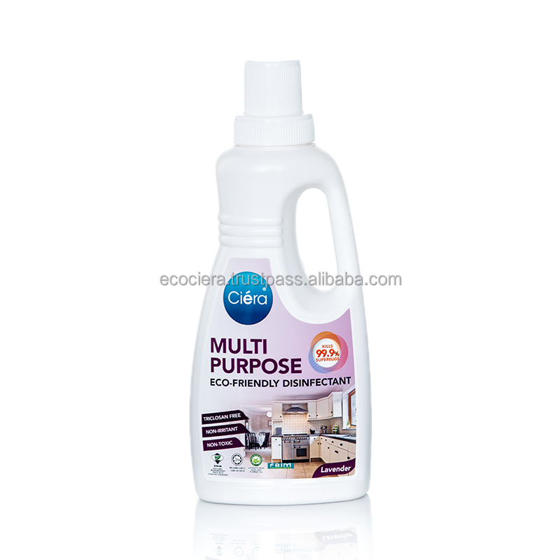 Top Quality Halal Lavender Fragrance Eco Friendly Disinfectant