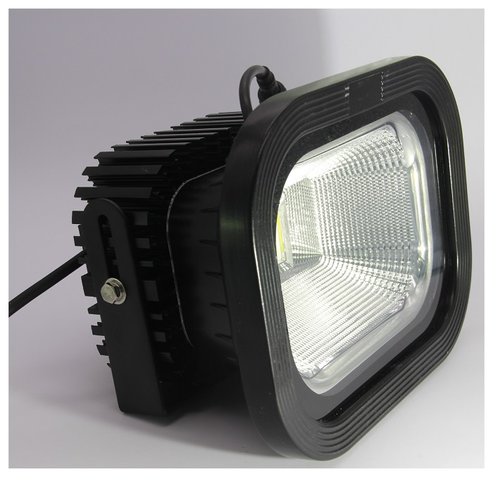 100W, AC 85-265V LED Flood Light Outdoor IP65 6000K-6500K wall mount and ceiling mount bracket