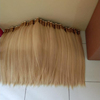 Hair extension bulk hair Remy hair machine weft double drawn Indonesian