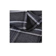 New Design plaid polyester cotton fabric for handmade crewing winter women shirt coat
