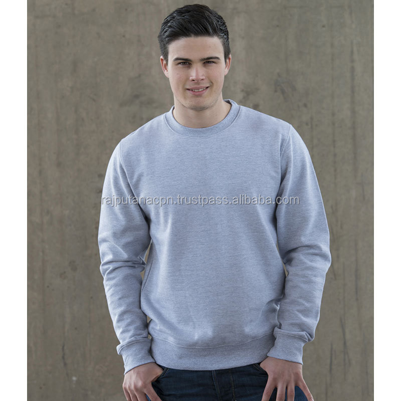 Best Selling Hot In USA Latest Sweatshirt for Handsome Men Lightweight Deep Distressed Mens Sweatshirt Custom Print Logo