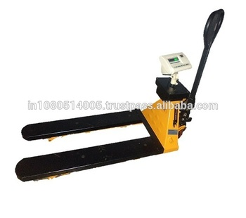 Low Price Digital Scale Hand Pallet Truck for Industrial use in 2T