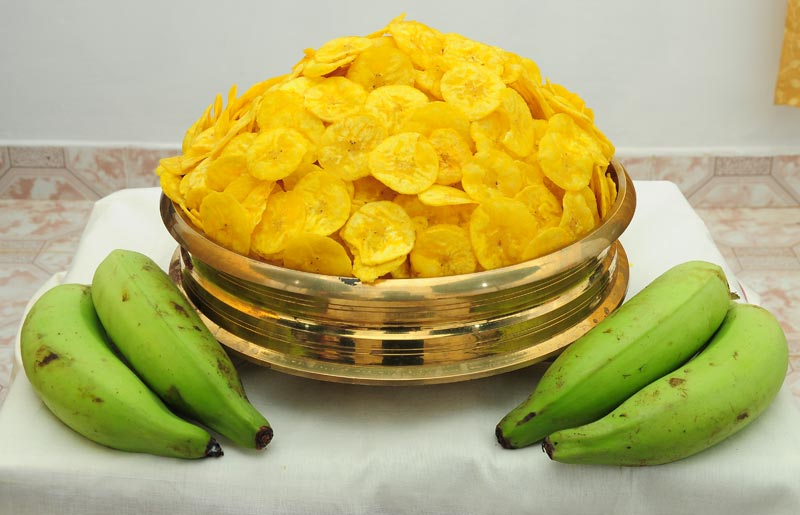 Banana Chips, Jack Fruit Chips