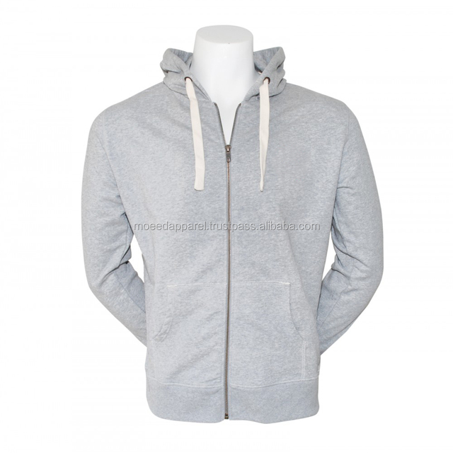Fashionable white zipper Hoodie 2014 oem designed in EUROPE