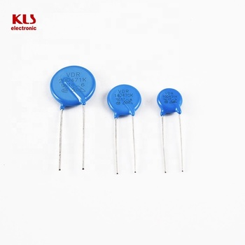 High quality VDR ZOV KLS6-14D681K 680V 6.5KA disc 14mm varistor