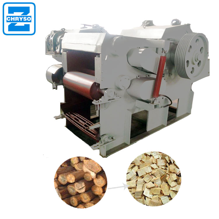 wood grinder electronic wood pallet crusher wood chipper for sale