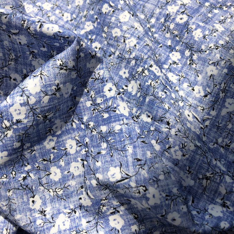 Digital Prited Cotton Poplin Fabric from Combed Yarn