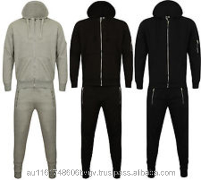 Fleece fitness training and jogging wear fleece pant & jacket,wholesale sportswear men sports track suit