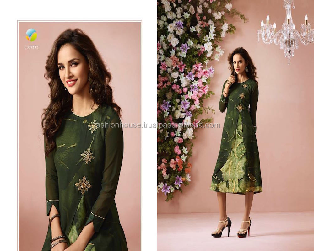 Indian Latest Fashion Long Kurti Designs