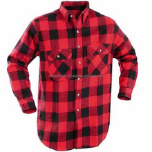 Flannel Shirts - Plain flannel shirts/High quality plain flannel shirts/Custom high quality plain flannel shirts