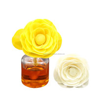 Sola spring rose flower with cotton wick petals creation india
