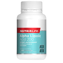 potent antioxidant ALPHA LIPOIC ACID 200 support liver detox at reasonable cost