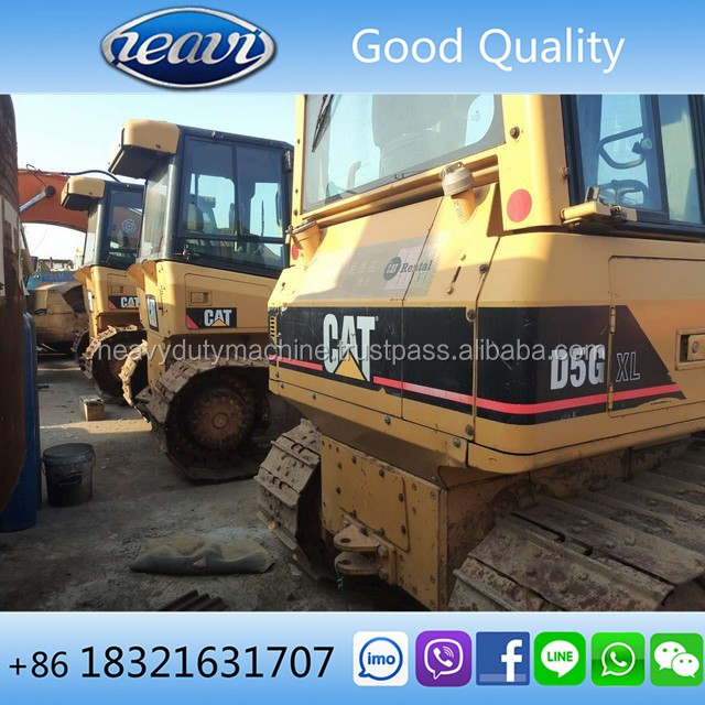 Used Original Caterpillar D5K LGP D5G XL Bulldozer for sale