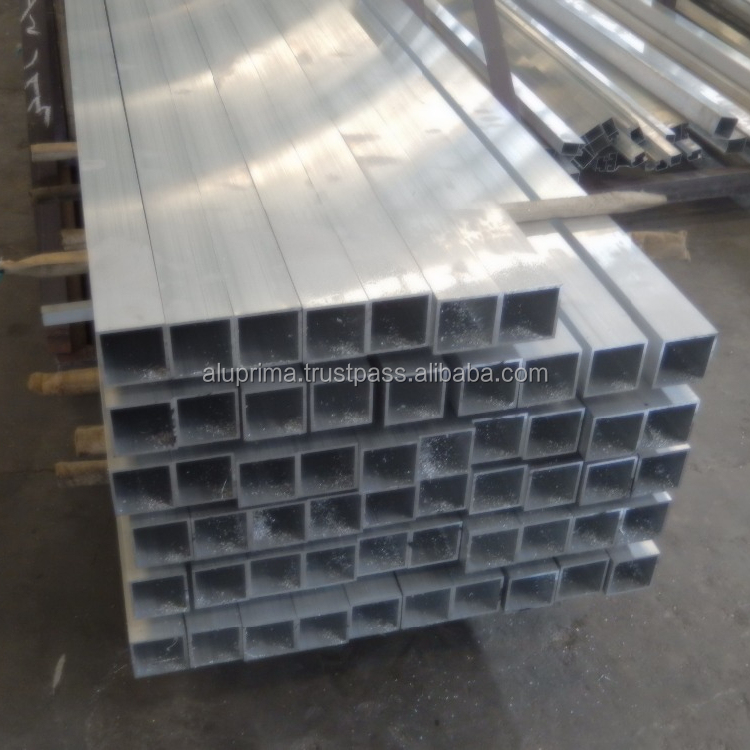 Mill Finish Aluminum Square Tube for decorations