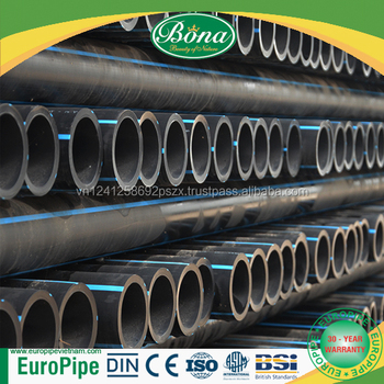 SDR33 PN5 PE100 DN110 HDPE Pipes ISO Certificate