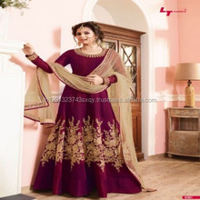 Partywear Designer Slawar Suit For Women Wear