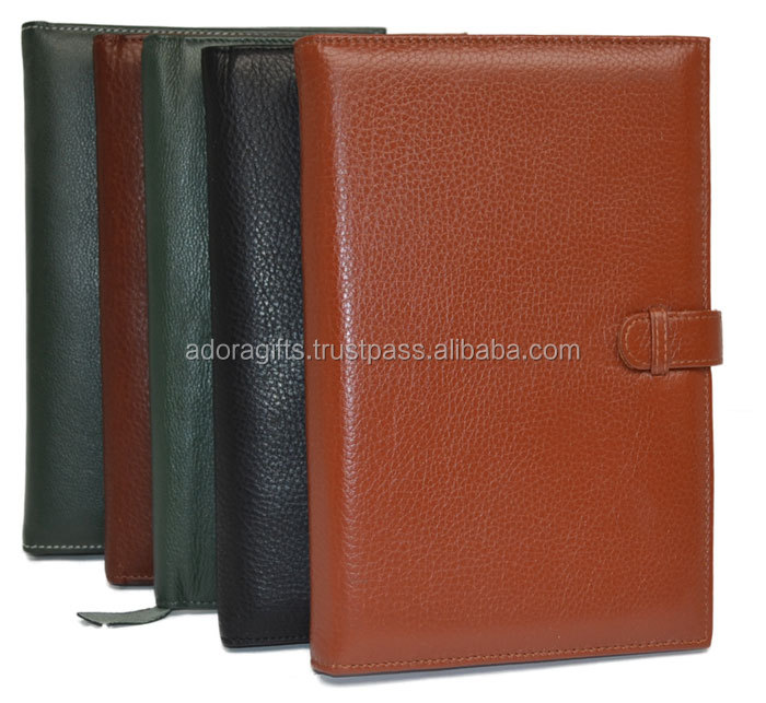 Leather Planner Diary With A/5 Size Premium Thicker Paper