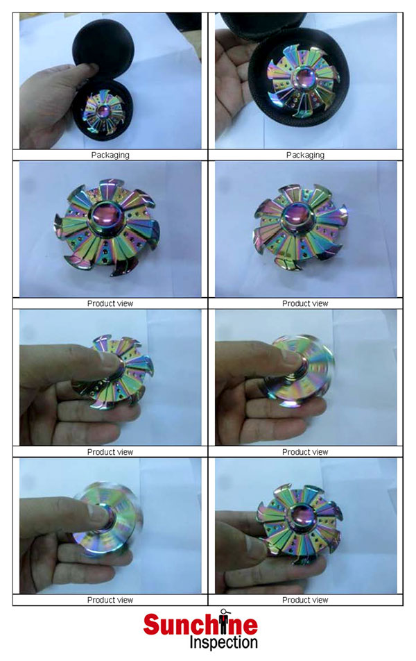 Fidget Spinner Quality Inspection Service / Product Quality Control Inspection and Testing / Sample Inspection Report
