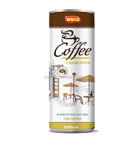 Ice Coffee Drinks In Cans Capuchino 250ml