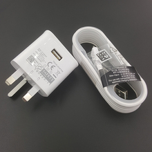 QC 2.0 cable chargeur set UK pin rapid wall charger for lg,