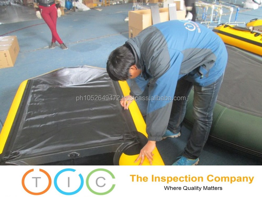Inflatable Products Third Party Inspection in China / Quality Control Services