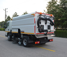 4.5 m3 truck mounted Vacuum Road Sweeper - Superstructure only