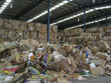 OCC 11 waste paper in bales