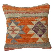 100% WOOL HAND WOVEN KILIM CUSHION COVER