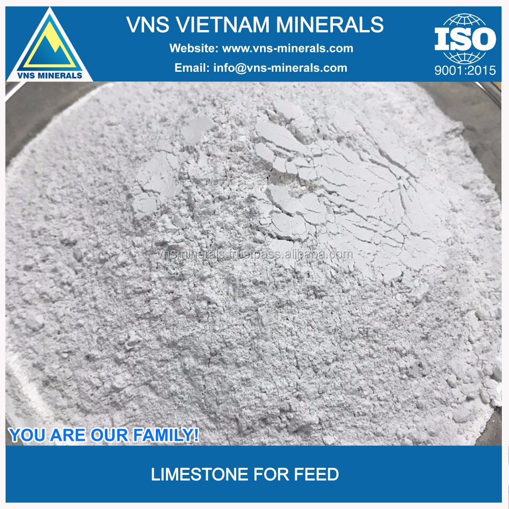 Industrial grade pure limestone powder