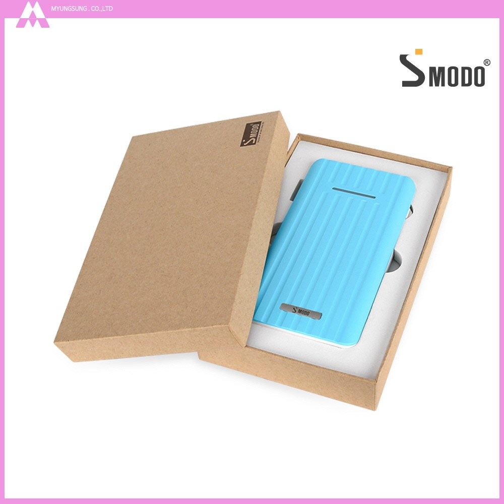 Fashion style best gift travel backup battery 8000mAh smart mobile power