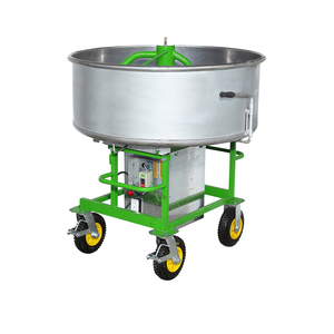 Vertical High Intensity Shaft Pan Concrete Mixer