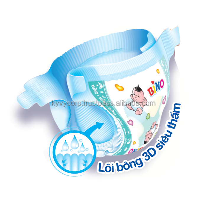 Vietnam disposable sleepy baby diaper with low price and high quality