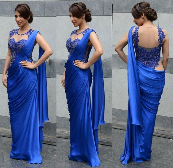 WEDDING DESIGNER INDIAN SAREE DRESS