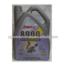 Armor-S 8000 Ultrablend Semi Synthetic Motor Engine Lubricant Oil