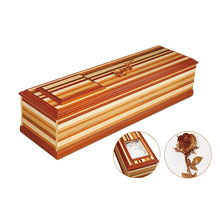 cheap wood funeral coffin with wood carved rose,colors of casket coffin