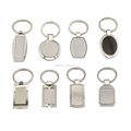 Cheap Keychains in Bulk Free Sample Rectangle, Round Blank Sublimation Keychain