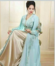 Dubai Style Kaftan Party wear Jalabiya Wedding Kaftan Dress Moroccan